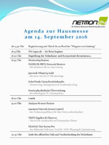 Agenda netmon24 Hausbootmesse 2