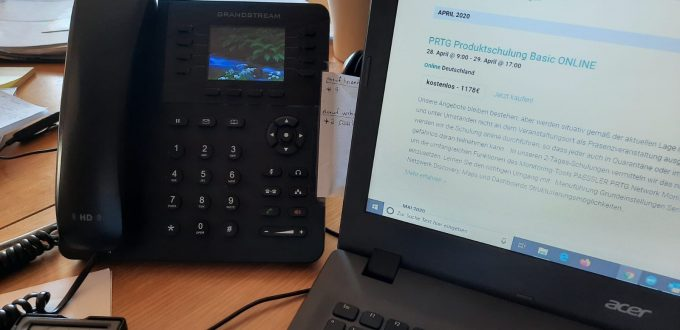 Neue Arbeitsabläufe im HomeOffice